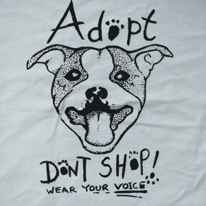 KID tee Adopt Dont Shop