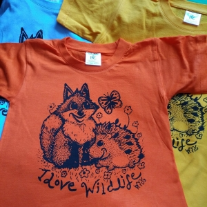 KIDS tee I love Wildlife