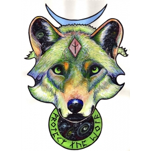 RUNIC WOLF Full Colour