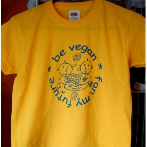 Be Vegan - Kids Yellow