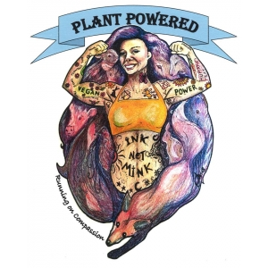 Plant Power Ladies Sports Ve..