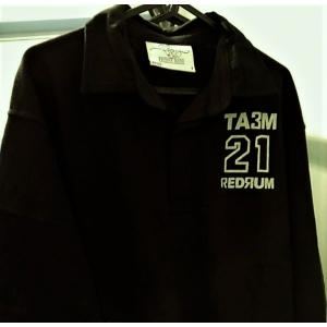 TA3M 21 Rugby Shirt BLACK