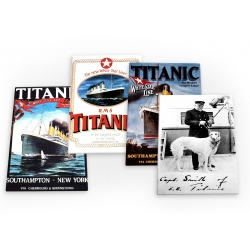 Titanic White Star Ship Vintage 4 X Fridge Magnets B