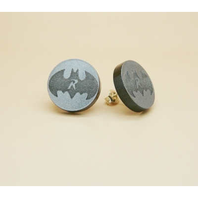 Batman Robin Stud Earrings title=