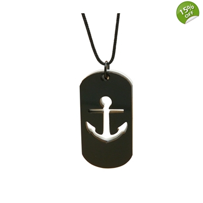 Anchor And Swallow Nautical Unisex Necklaces title=