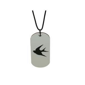 Anchor And Swallow Nautical Unisex Necklaces
