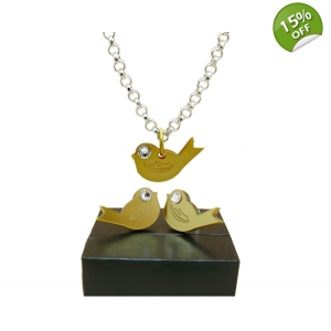 Chirpy Gold Bird S..