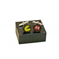 Pacman Retro Gaming Cufflinks