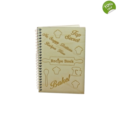 Bakers Blank Lined Recipe Notebook