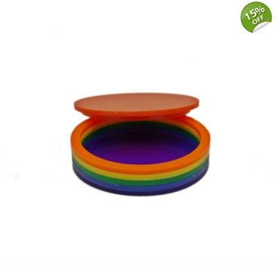Rainbow Storage Jewellery box title=