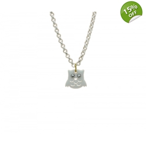 Snowy Owl Necklace