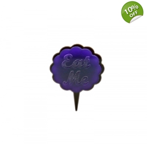 Eat Me Cupcake Cake Topper Picks