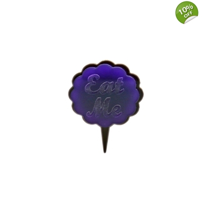 Eat Me Cupcake Cake Topper Picks title=