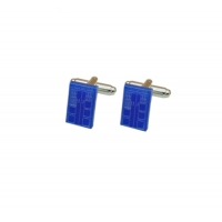 Dr Who Tardis Phone Box Cufflinks