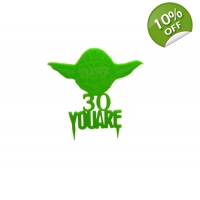 Yoda Personalised Keepsake Cake T..