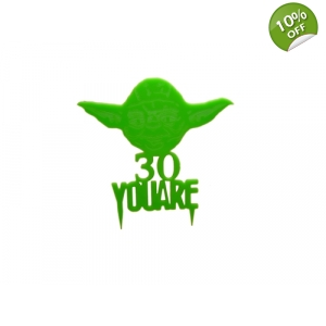 Yoda Personalised Keepsake Cake Topper