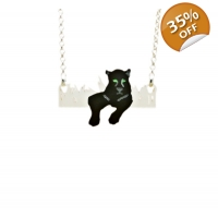 Deluxe Black Panther Necklace