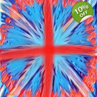 Abstract Union Jack Wall Pop Art ..