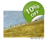 Hillside Meadow Art Print