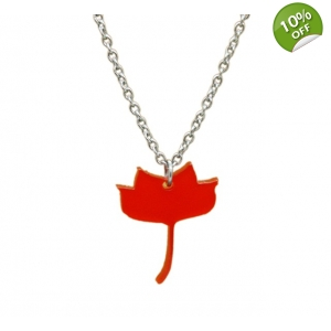 Tulip poplar Necklace