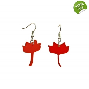 Tulip poplar earrings