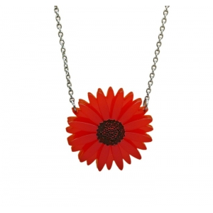 Deluxe Red Gerbera Neck..