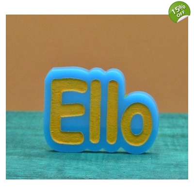 ELLO Labyrinth Worm Greeting Pin Badge Brooch title=