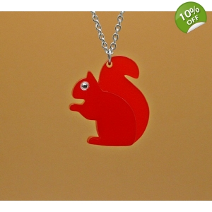 Red Squirrel Neckl..