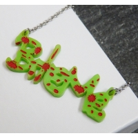 Bite Me Zombie Necklace