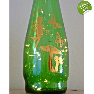 Gold fairy lamp li..