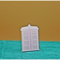 Pink Tardis Phone Box Pin Badge B..