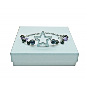 Starry Night Sky Bracelet