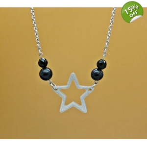 Starry Night Sky Necklace