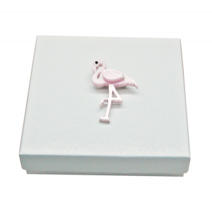 Pink Flamingo Pin Brooch