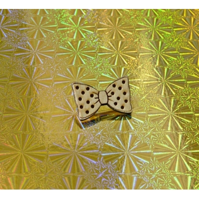 Ltd Edt Dickie bow tie Pin Badge