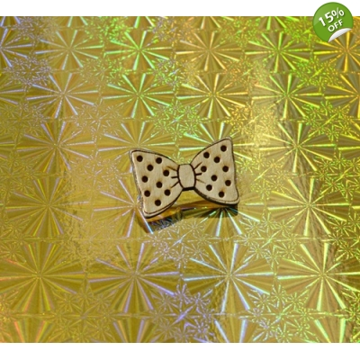 Ltd Edt Dickie bow tie Pin Badge title=