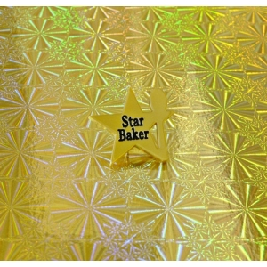 Ltd Edt Gold Star Baker Pin Badge Bake off GBBO