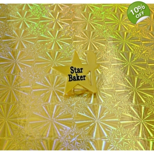 Ltd Edt Gold Star Baker Pin Badge