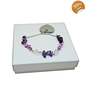 Purple Haze Charm brace..
