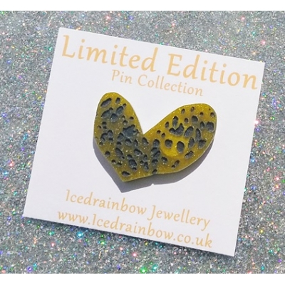 Scary Spice Fairy Heart Pin title=