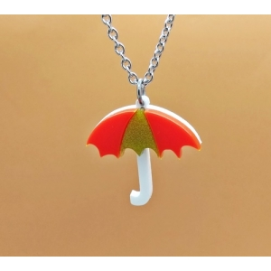 Autumnal Umbrella Neckl..