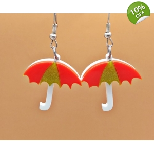 Autumnal Umbrella Earri..