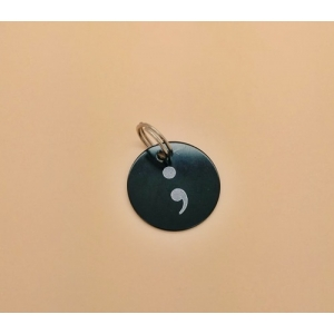 Limited Edition Semi colon Keyring Cha..