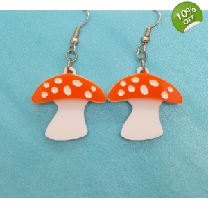 Orange toadstool m..