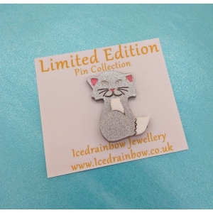 Sparkles The Kitten Pin..