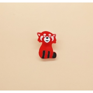 Red Panda Pin broo..