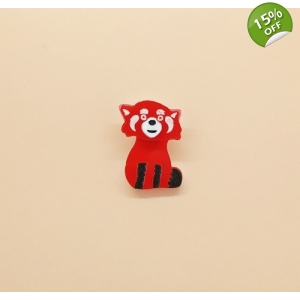 Red Panda Pin brooch la..