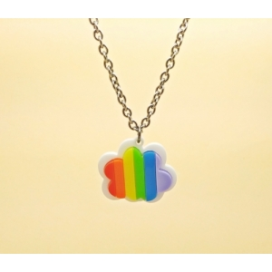 Rainbow Cloud Pendant N..