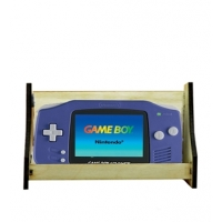 Wide Handheld Gaming Console Disp..