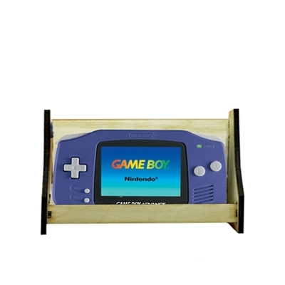 Wide Handheld Retro Gaming Console Display Stand title=